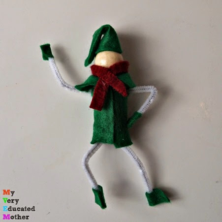 Elves #Christmas #ornaments #crafts #fun #ElfonShelf