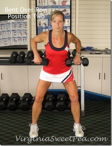 Bent Over Row - Position 2
