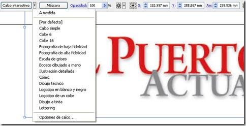 Calcando una tipografía en modo mapa de bits con sofware vectorial, para pasarla a formato vectorial.