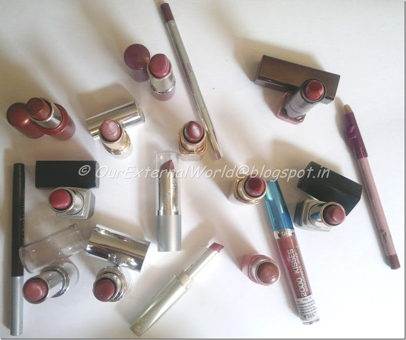 Lipsticks collection