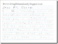 American Symbol: President (Goofy wrote the President a letter)