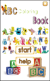 英语 ABC 着色学习