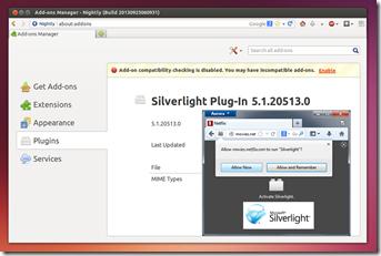 microsoft silverlight plugin