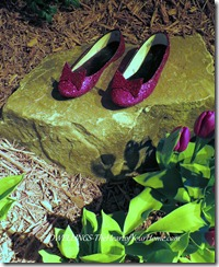 Southern Spring Show Dorothy's ruby red slippers