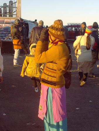 Obiective turistice India: salutul soarelui Tiger's Hill Darjeeling