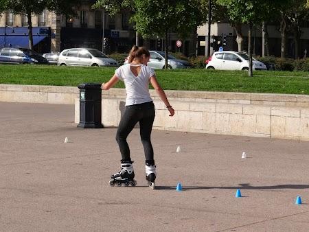 Roller skater fata