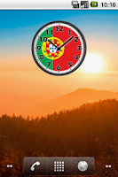 Screenshot of Portugal Clock