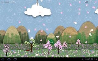 Screenshot of Samsung Parallax Spring