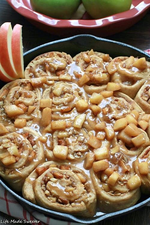 Apple Pecan Cinnamon Rolls with Salted Caramel Glaze 4.jpg