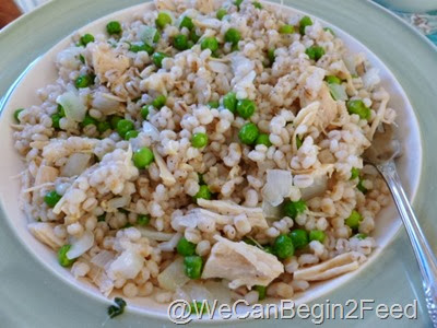 11 Barley fried 'rice'