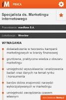 Screenshot of iMoney Praca