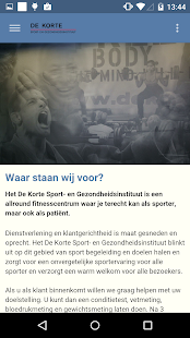de Korte Sport - screenshot thumbnail