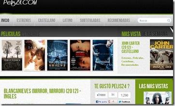 Pelis24com Gratis Online Cine En Linea Hd 2014 Mejores Paginas