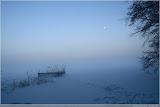 Nebel auf dem Müggelsee