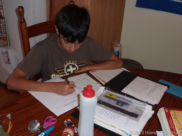 Caleb Writing