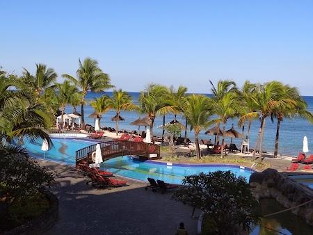 Piscine hotel Le Meridien Mauritius