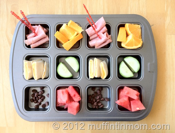 muffin tin meals lunches