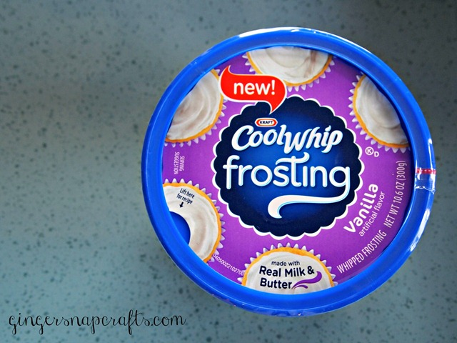 Cool Whip frosting vanilla