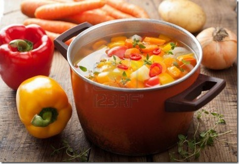 16573141-vegetable-soup-in-pot