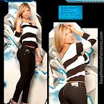 Angelica Jaramillo y Sofia Jaramillo Modelando D'Axxys Jeans Foto 3