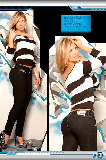 Angelica Jaramillo y Sofia Jaramillo Axxys Jeans Foto 3
