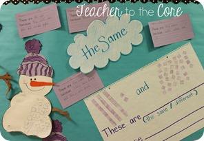 Place Value is fun to think about with this  Snowman Smart Art Freebie (6)