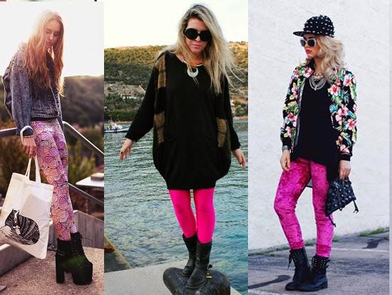 Como usar legging rosa com botinha preta