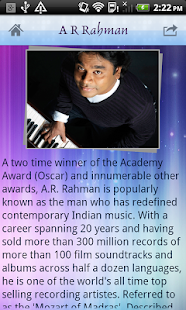 A R Rahman - screenshot thumbnail
