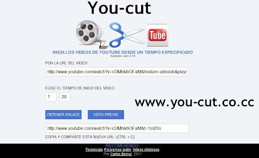 Youtcut