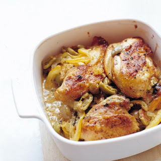 Lemon and Olive Chicken.