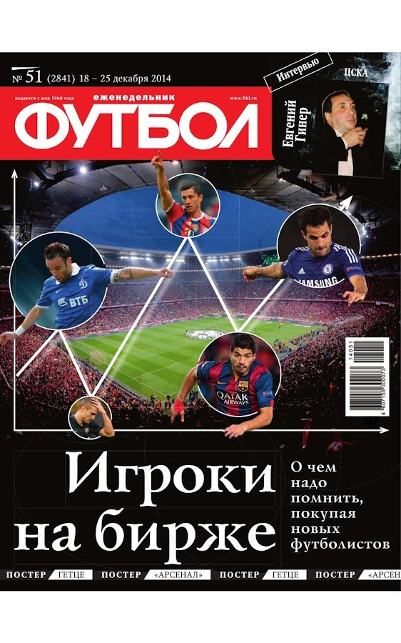 Football weekly Russia- screenshot
