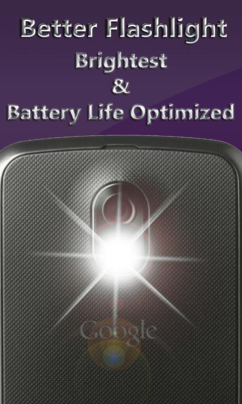 Better FlashLight HD LED- screenshot