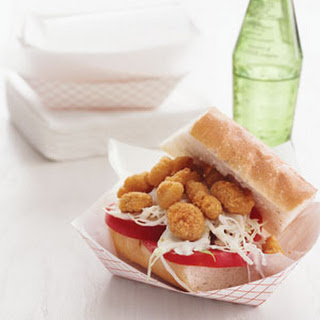 Quick Shrimp Po' Boy.