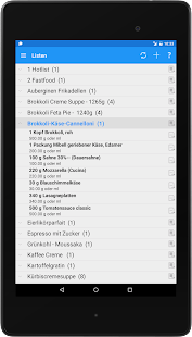 FoodLogger Lite- screenshot thumbnail