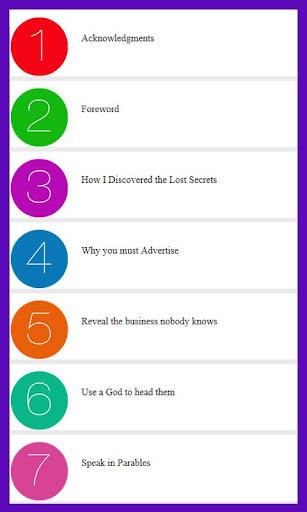 7 Secrets Of Success