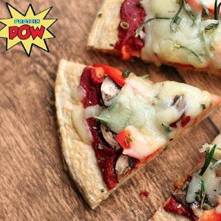 Four Ingredient Protein Pizza Crust Recipe