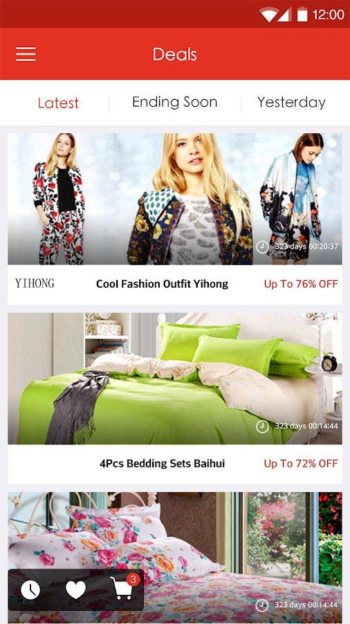 LightInTheBox Online Shopping- screenshot
