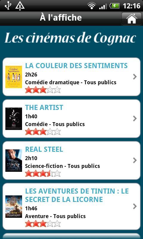 Les cinémas de Cognac- screenshot