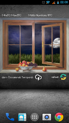 Meteo finestra for zooper pro