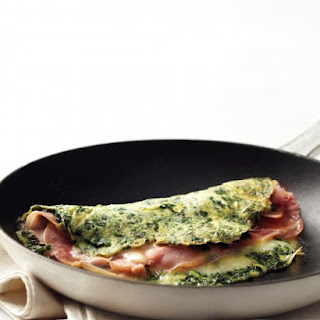 Green Eggs and Ham Omelet.