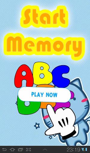 ABC簡単マッチング記憶ゲーム