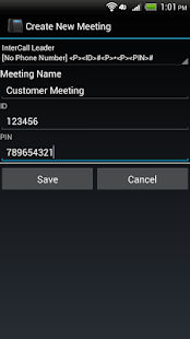 Meeting Auto Dialer- screenshot thumbnail
