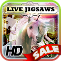 Live Jigsaws - Unicorns icon