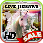 Live Jigsaws - Unicorns