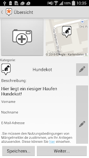 Mängelmelder- screenshot thumbnail