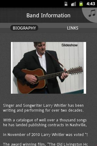Larry Whitler - 12 String Poet - screenshot