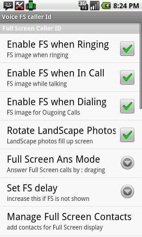 caller id using sound card: