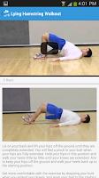 Screenshot of Bodyweight Exercise Tone Legs