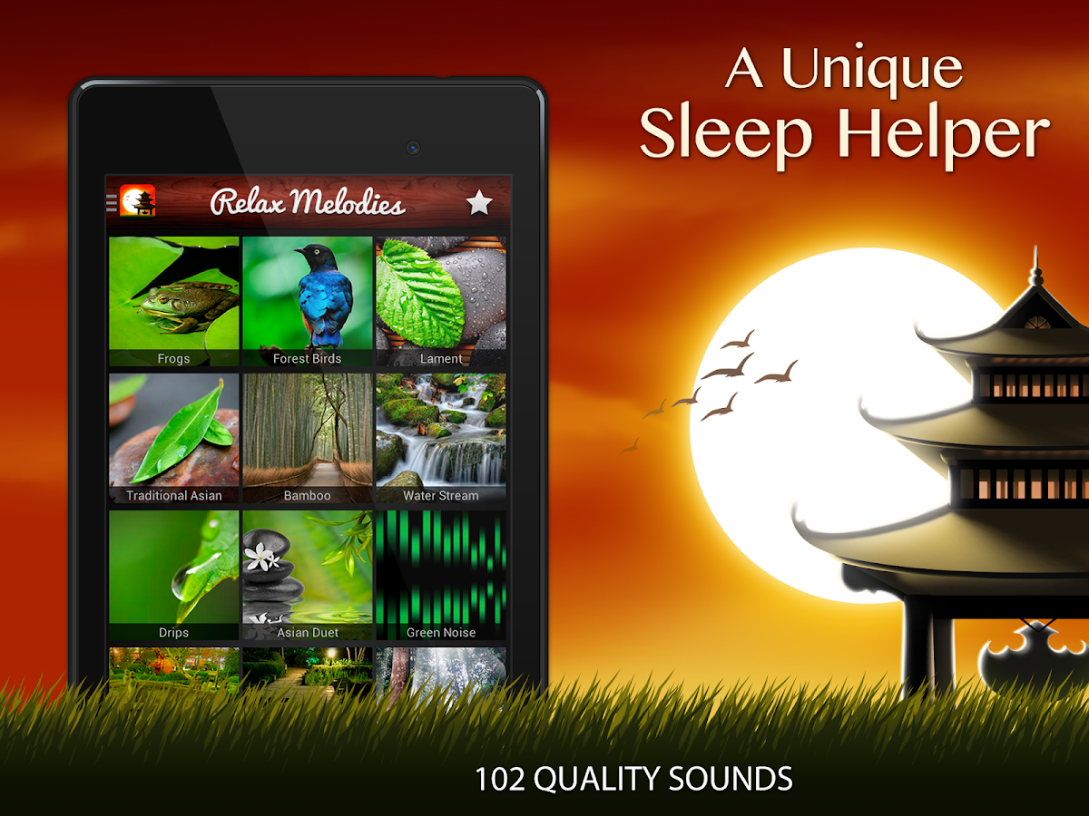 relax meditation sleep with sleep sounds android apps on google play. Black Bedroom Furniture Sets. Home Design Ideas
