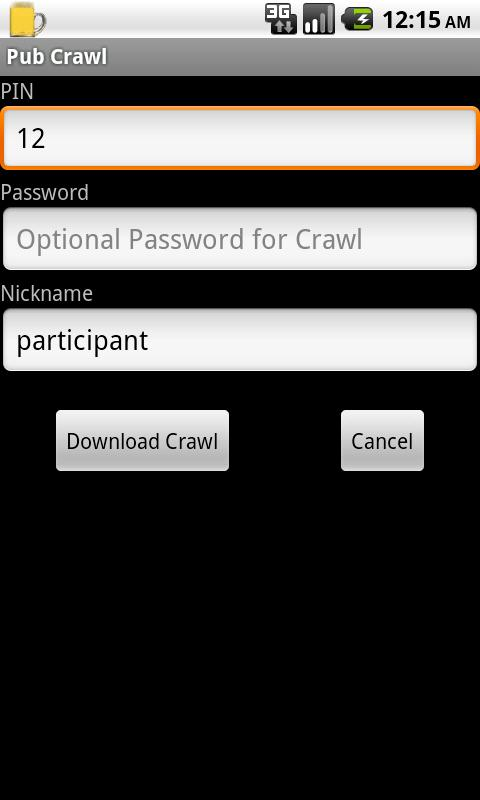 Pub Crawl - pubdroid.com - screenshot